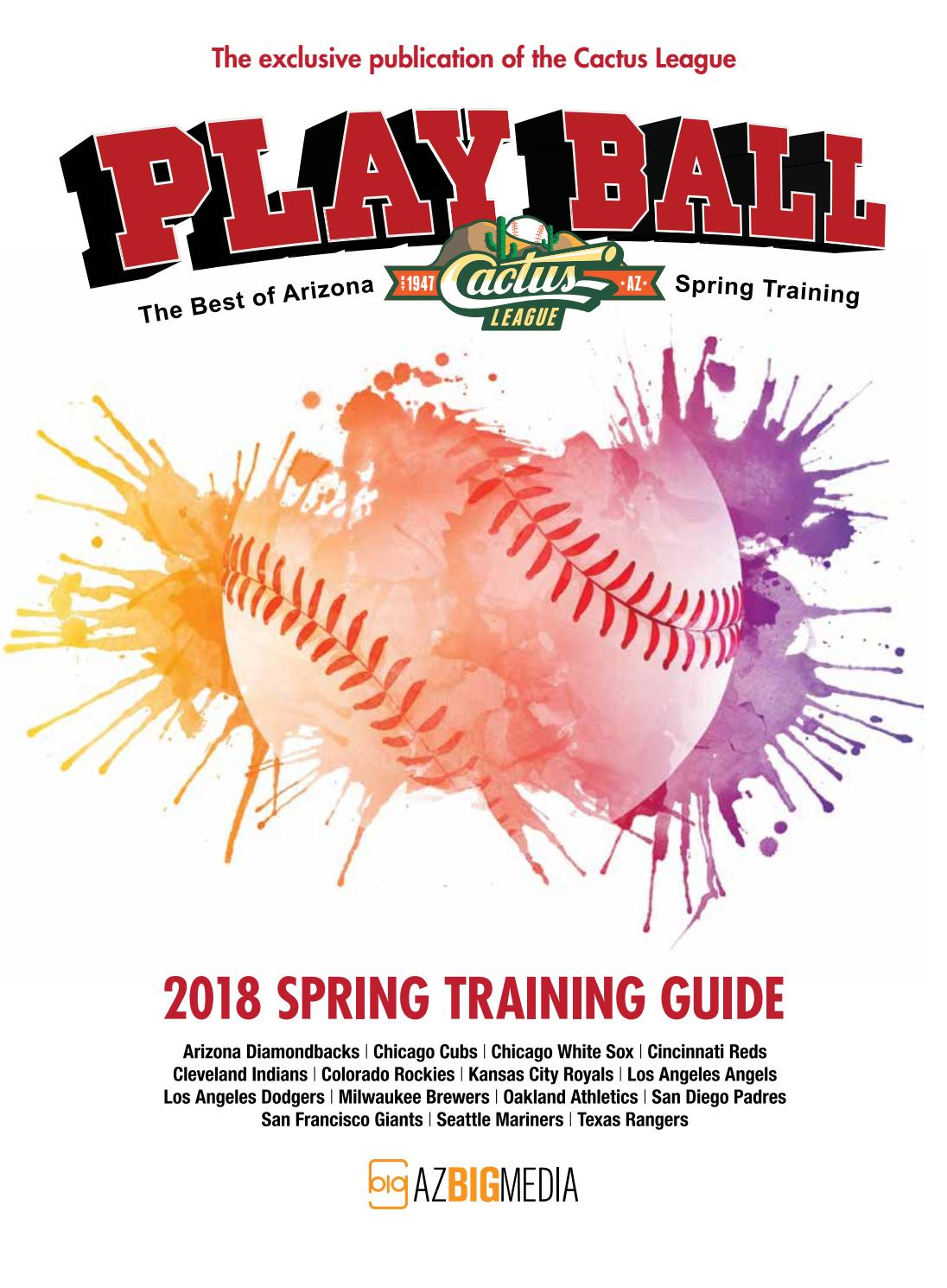 Playball 2018 - The Best of Arizona Spring Training by AZ