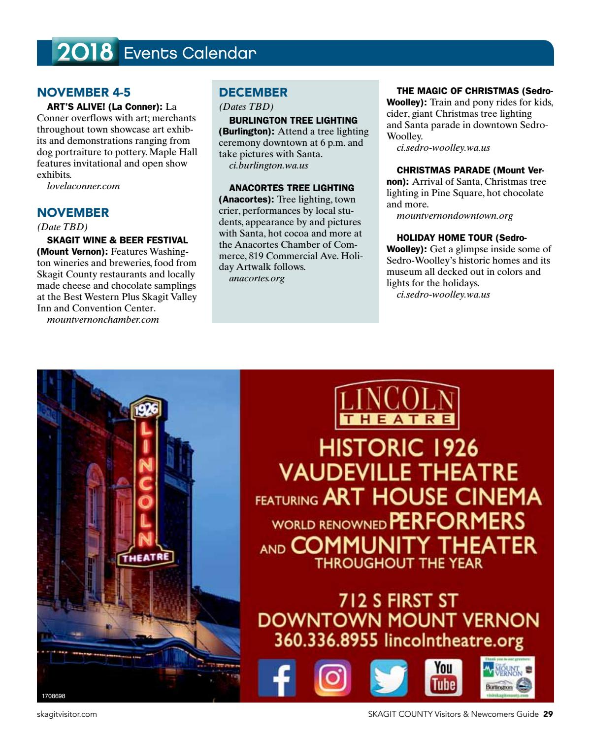 2018 Skagit County Visitors Guide By Publishing Issuu