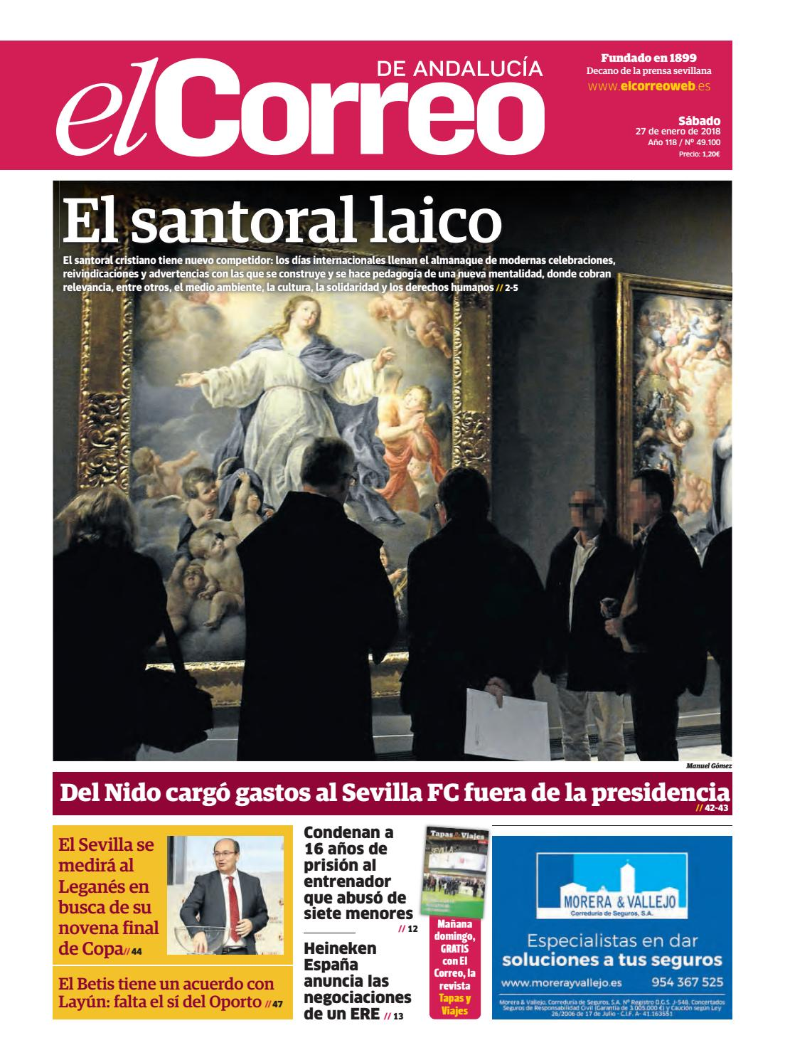 27.01.2018 El Correo de Andalucía by EL CORREO DE ANDALUCÍA S.L. - issuu e6569a4ecd9