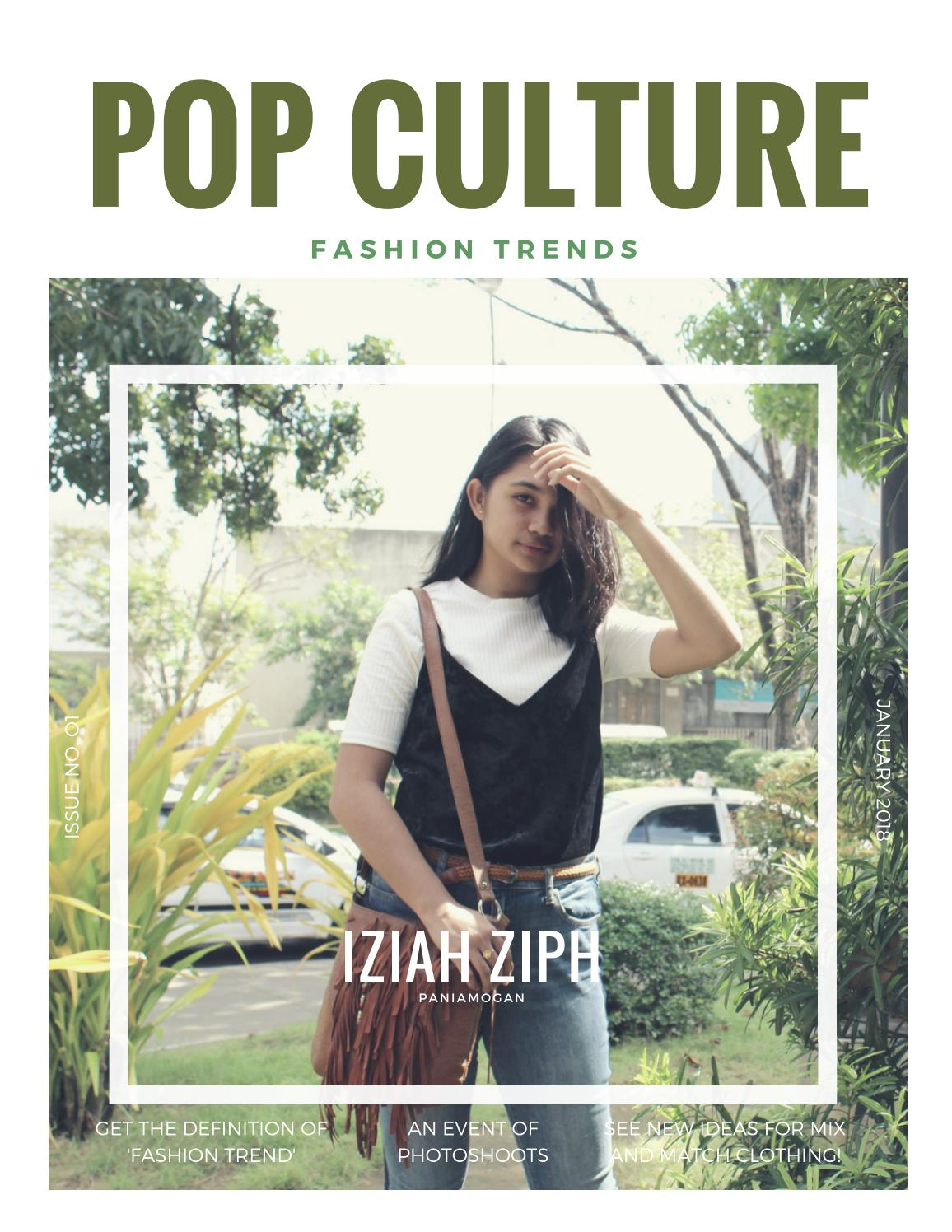 Pop Culture Fashion Trends By Regina Nichole Issuu
