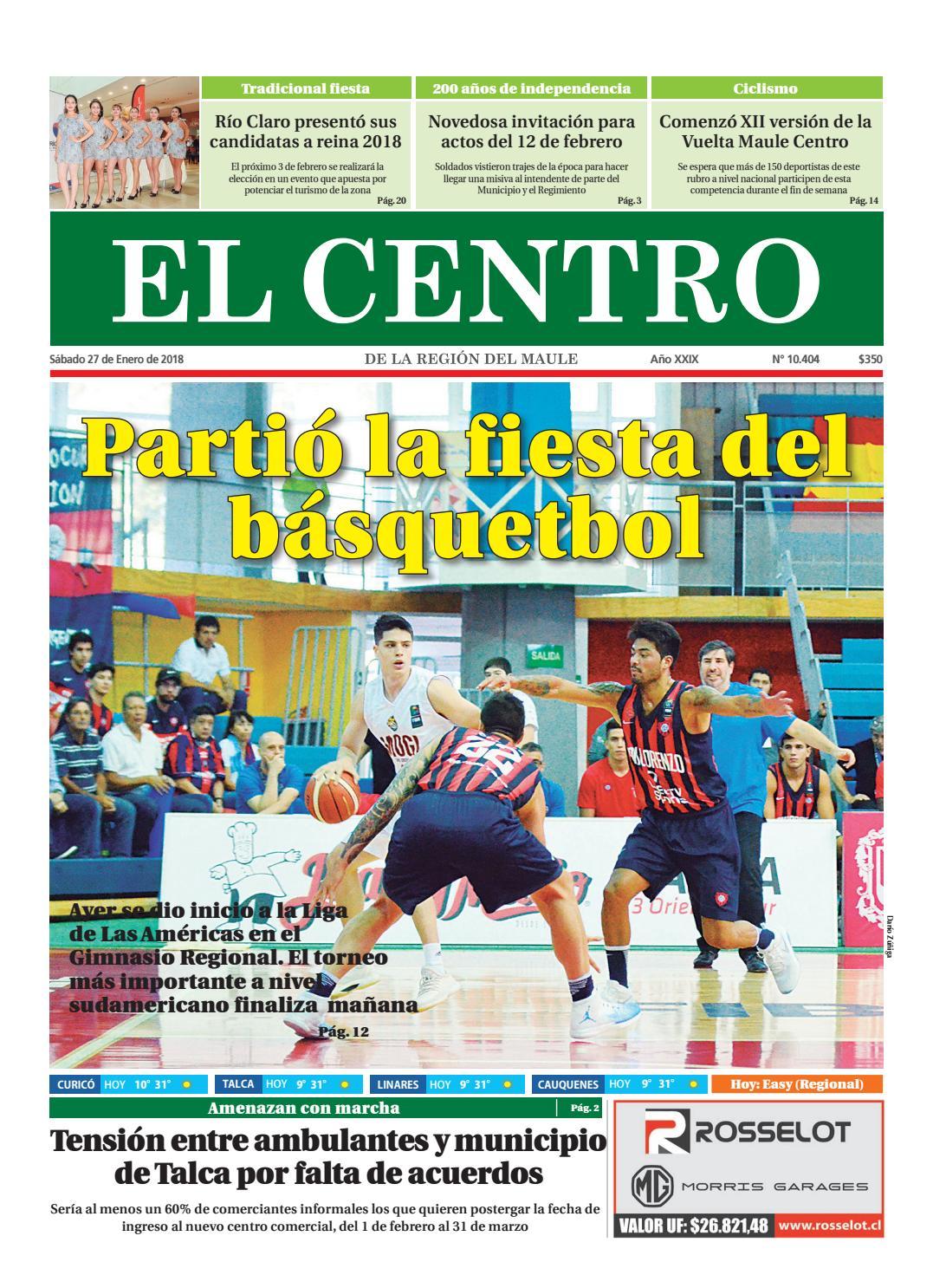 Diario 27-01-2018 by Diario El Centro S.A - issuu