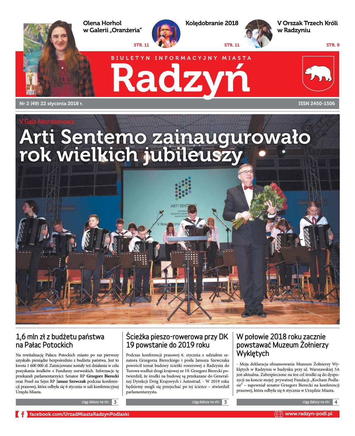 5dcb100917 Radzyń 49 2018 by Urząd Miasta Radzyń Podlaski - issuu