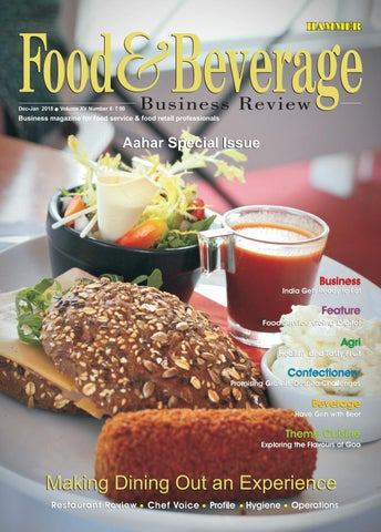 Food & Beverage Buisness Review (Dec-Jan 2018) by Food & Beverage