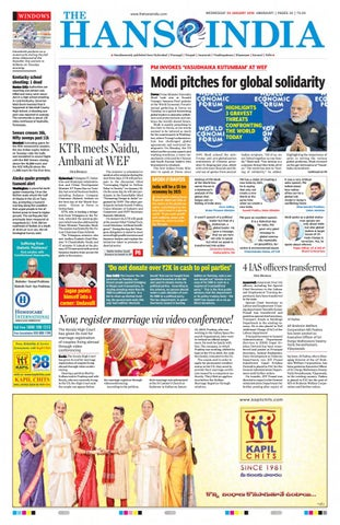 English hansindia amaravathi 24 01 2018 by Mahesh Yadav - issuu