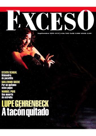 c21865f8 Revista Exceso edicion nº 57 septiembre 1993 by Revista Exceso ...