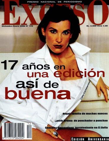 new style 2a388 613f1 Revista Exceso edición nº 192 diciembre enero 2006 by Revista Exceso ...