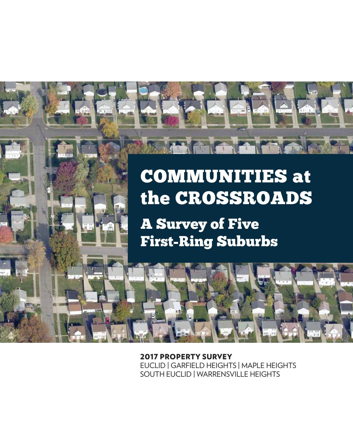 Crossroads Adrian Mi Christmas Baskets 2020 Communities at the Crossroads: A Survey of Five First Ring Suburbs
