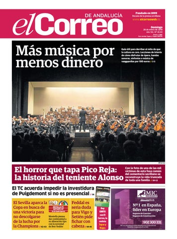 a5c518309283b 28.01.2018 El Correo de Andalucía by EL CORREO DE ANDALUCÍA S.L. - issuu