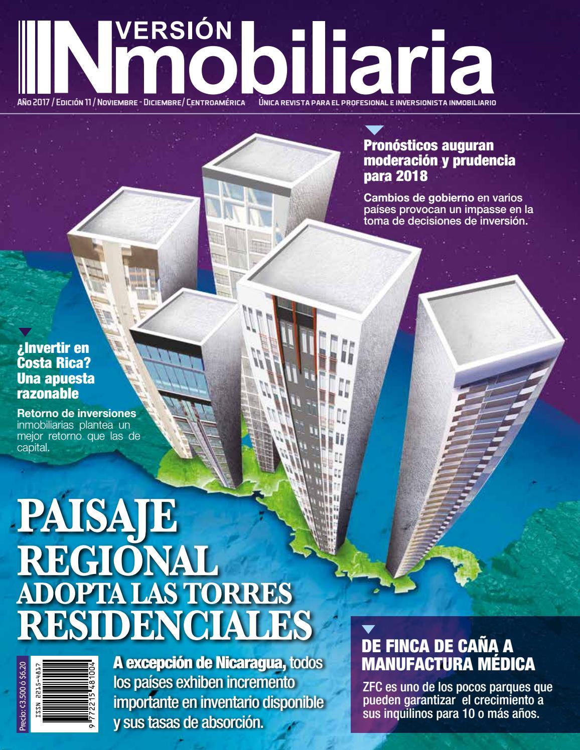 wholesale dealer 74ab2 d163f Revista INversión INmobiliaria, Ed.  11, Diciembre 2017 by Revista  Inversión Inmobiliaria, Costa Rica - issuu