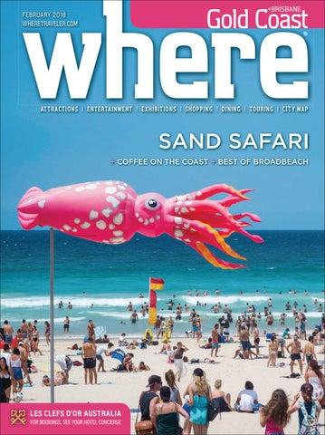 6421b27514c7f Where Magazine Gold Coast AU Feb 2018 by Morris Media Network - issuu