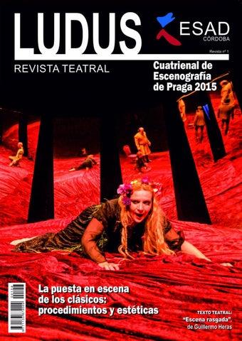 LUDUS REVISTA ESAD CÓRDOBA by David Gutiérrez - issuu