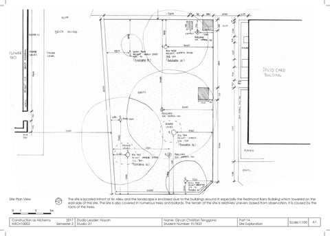 ARCH10002 CasA (Construction as Alchemy) Final Portfolio by Girvan