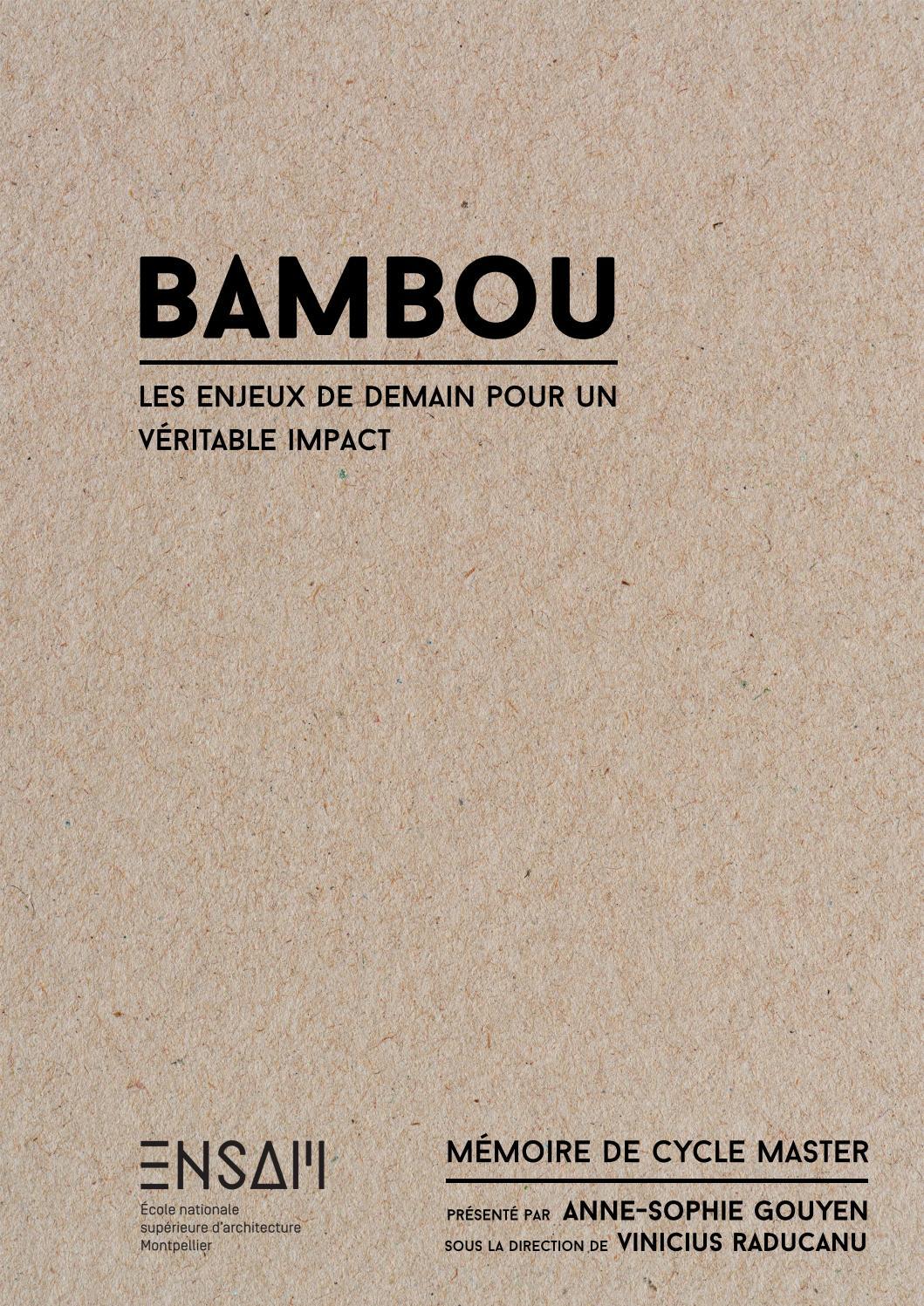 Contreplaqué Bambou 3 Mm bambou, les enjeux pour un véritable impactanne-sophie