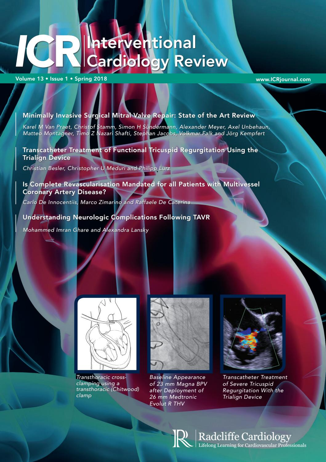 ICR 13 1 by Radcliffe Cardiology - issuu