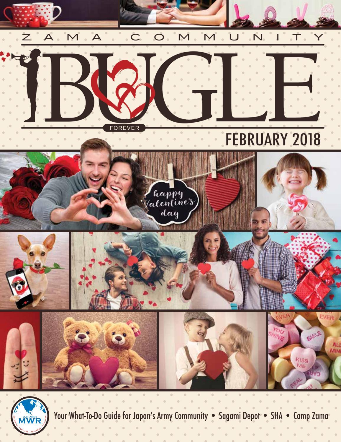 February 2018 BUGLE by Camp Zama MWR Marketing - issuu