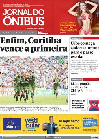 Jornal do Ônibus de Curitiba - 29 01 18 by Editora Correio ... 318442adbfeb3