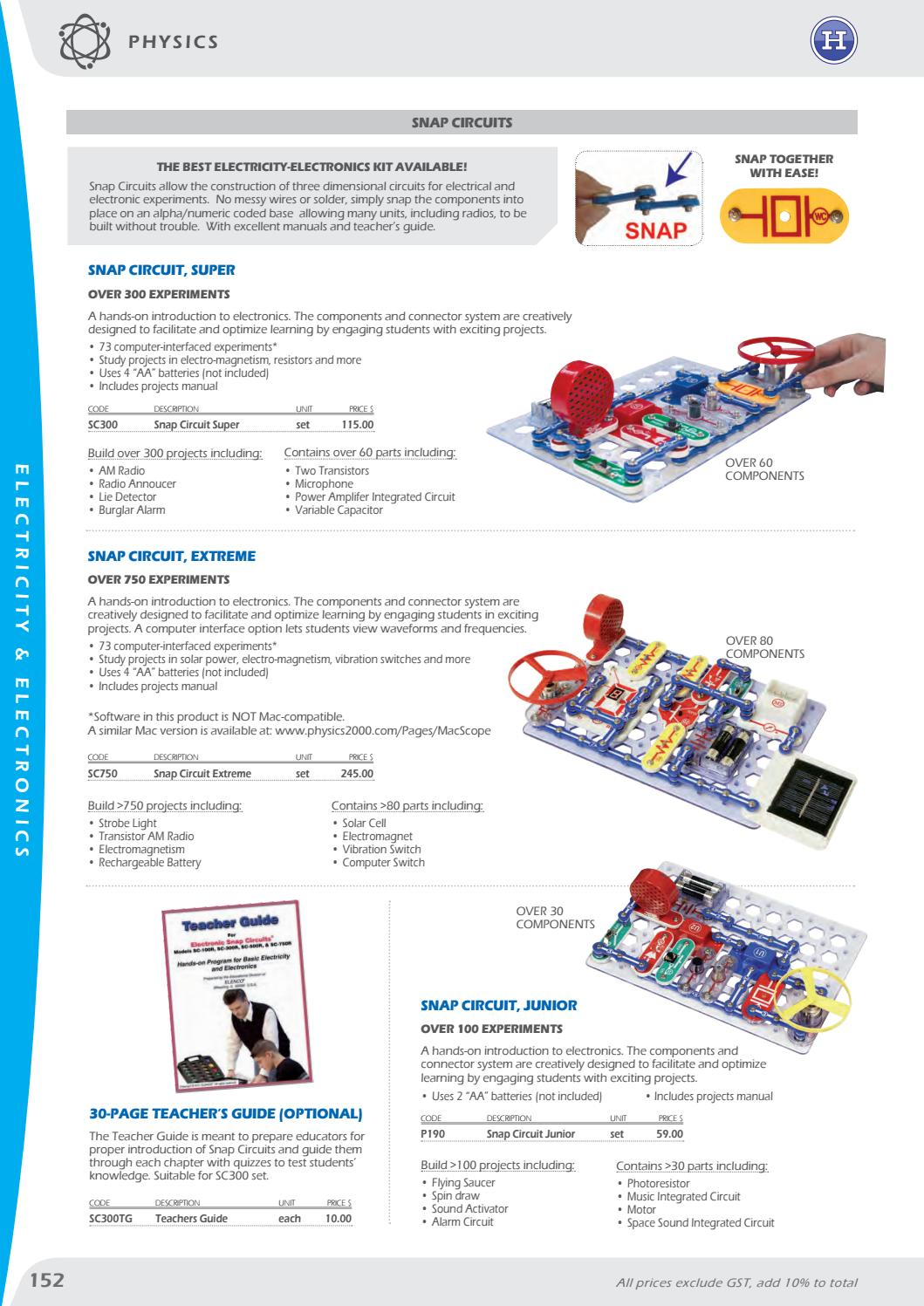 Haines Educational Science Catalogue 2018 By Issuu Burglar Alarm Circuit