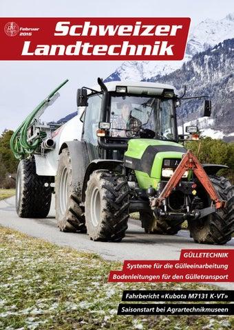 Schweizer Landtechnik 02/2016 by Schweizerischer Verband für ...
