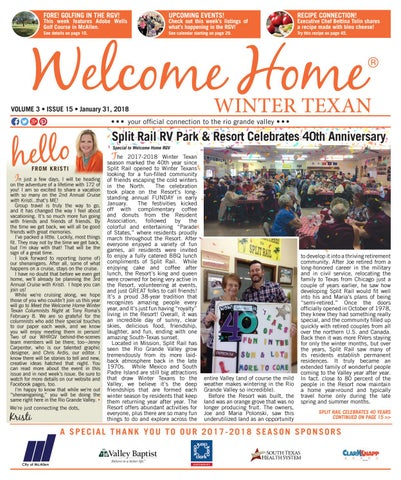 c3cb9f12551 Welcome Home Winter Texan   Vol 3 Issue 15   January 31