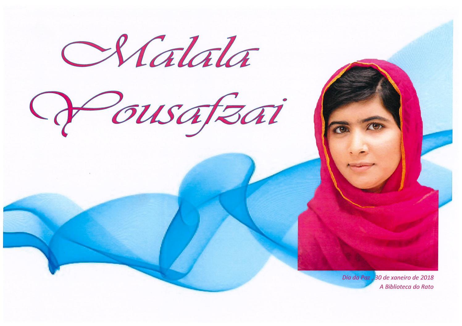 Caderno Frases Malala By Rogelio García Issuu