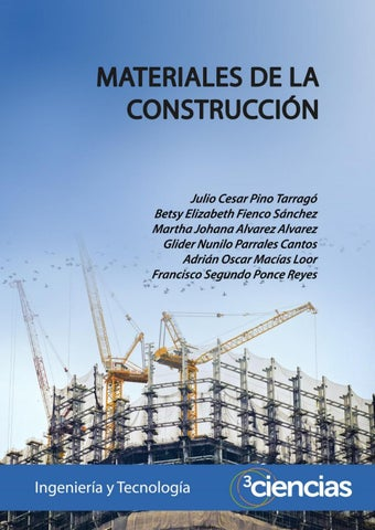 Materiales De La Construccion By Editorial Científica