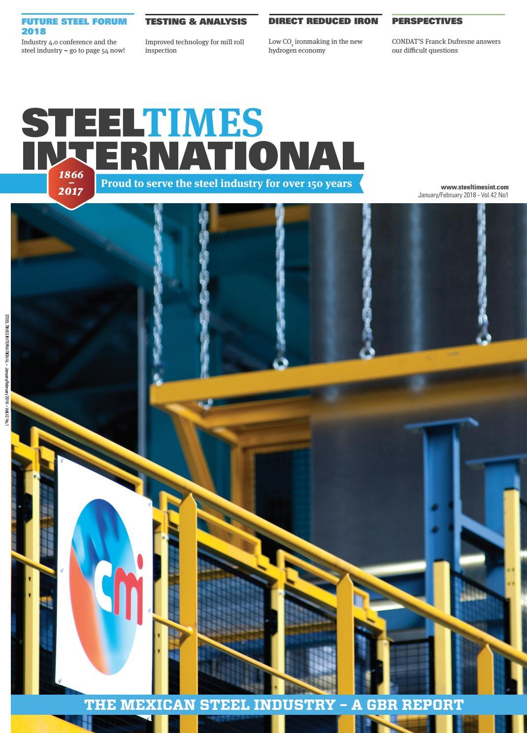 Steel Times International January February 2018 by Quartz Business ...
