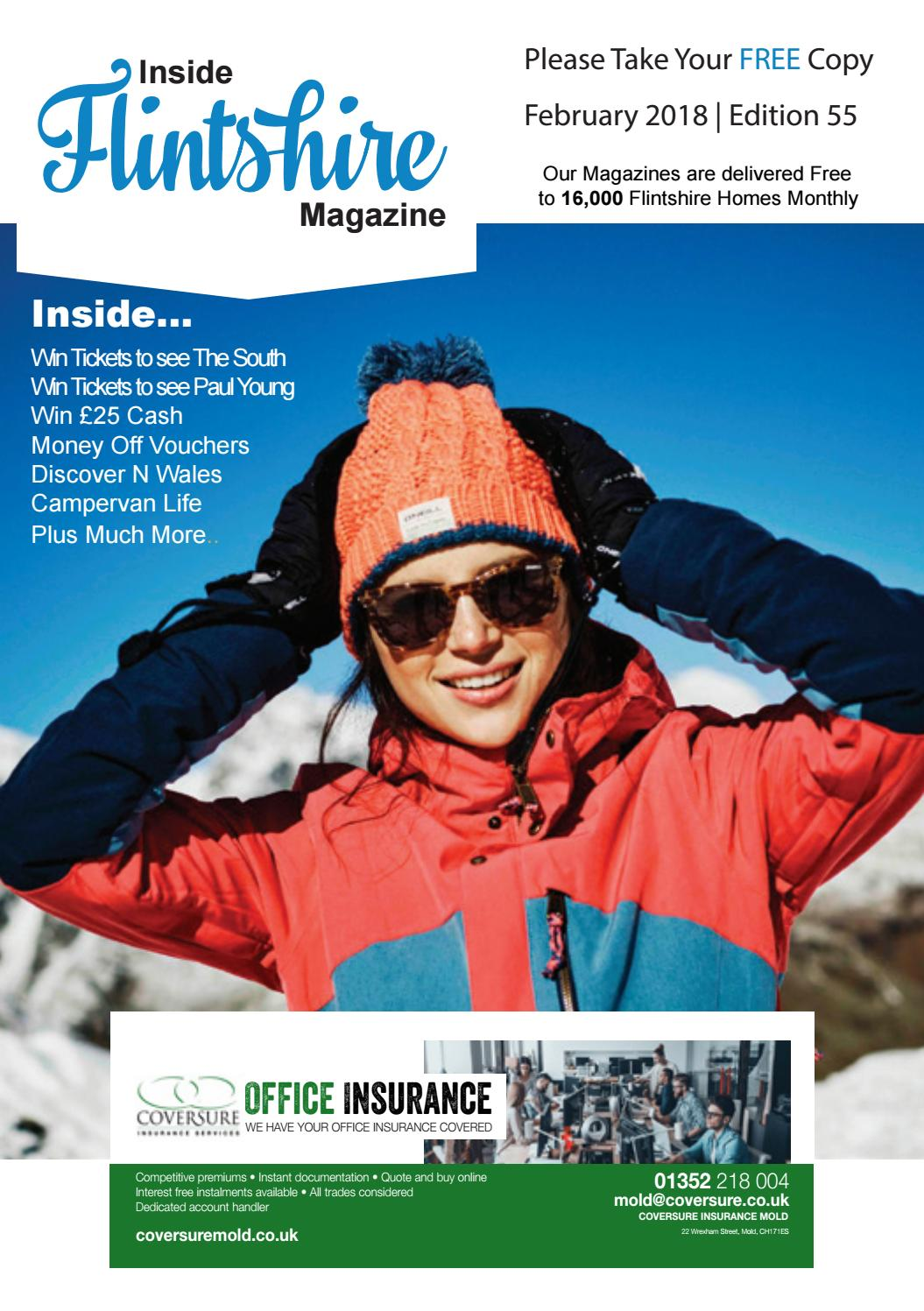 Inside Flintshire Magazine February 2018 by Inside Flintshire