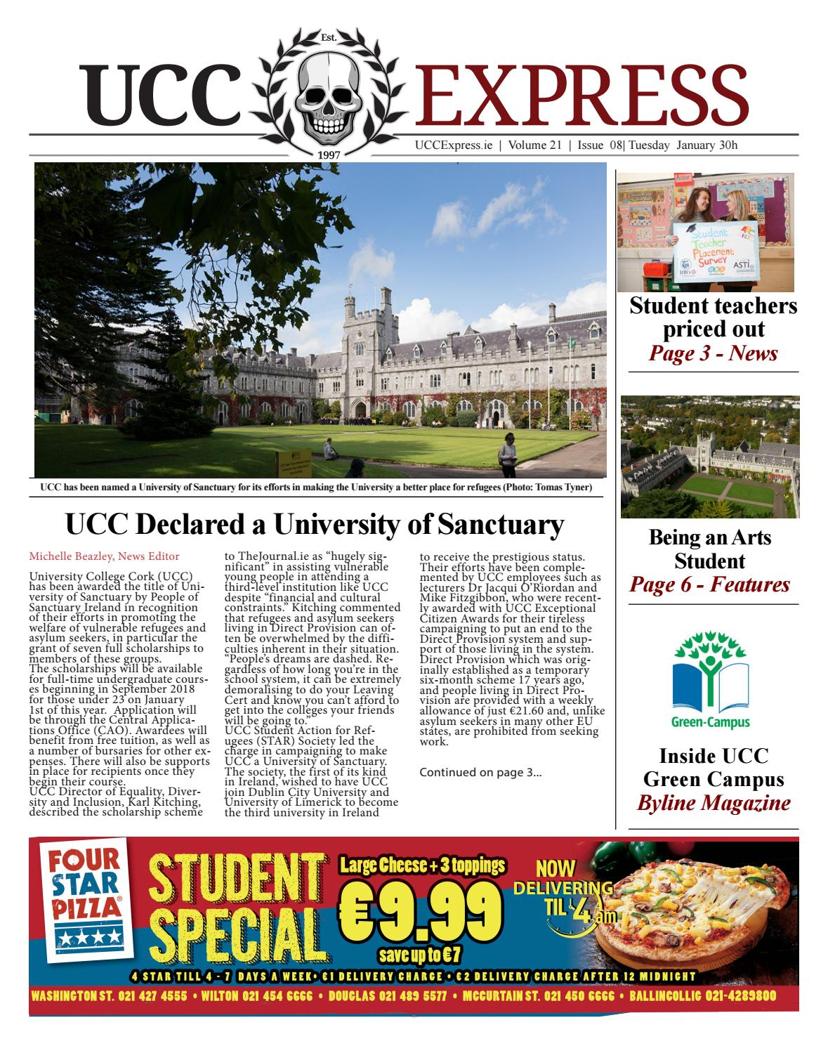 UCC Express Vol  21 Issue 08 by University Express - issuu