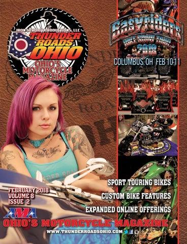 Thunder Roads Ohio February 2018 By Thunder Roads Ohio Magazine Issuu