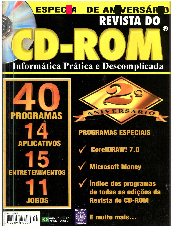 77dbb9f32 Revista do cdrom 025 by Michel França - issuu
