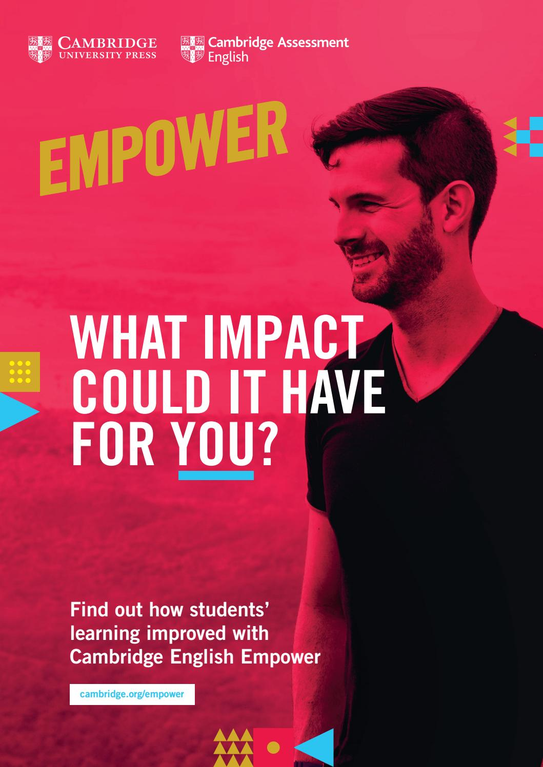 Cambridge English Empower by Cambridge University Press - Europe - issuu