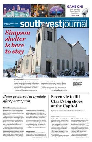 Southwest Journal Jan 25feb 7 2018 By The Southwest Journal Issuu