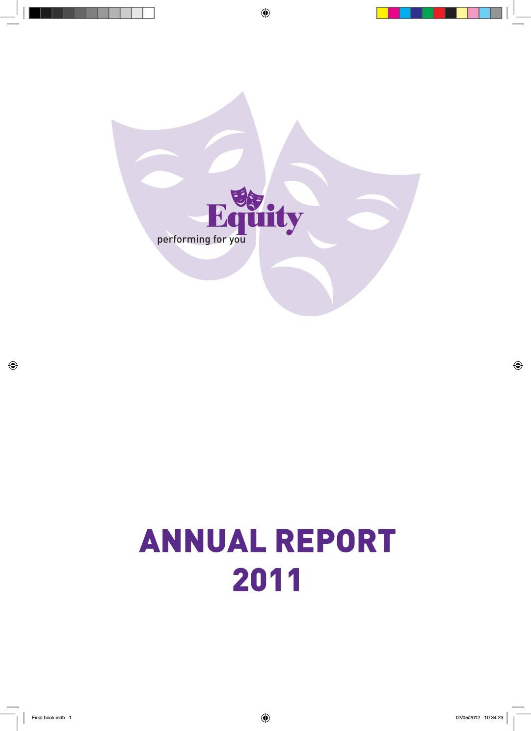 2011 - EquityUK Annual Report by Caron Lyon - issuu