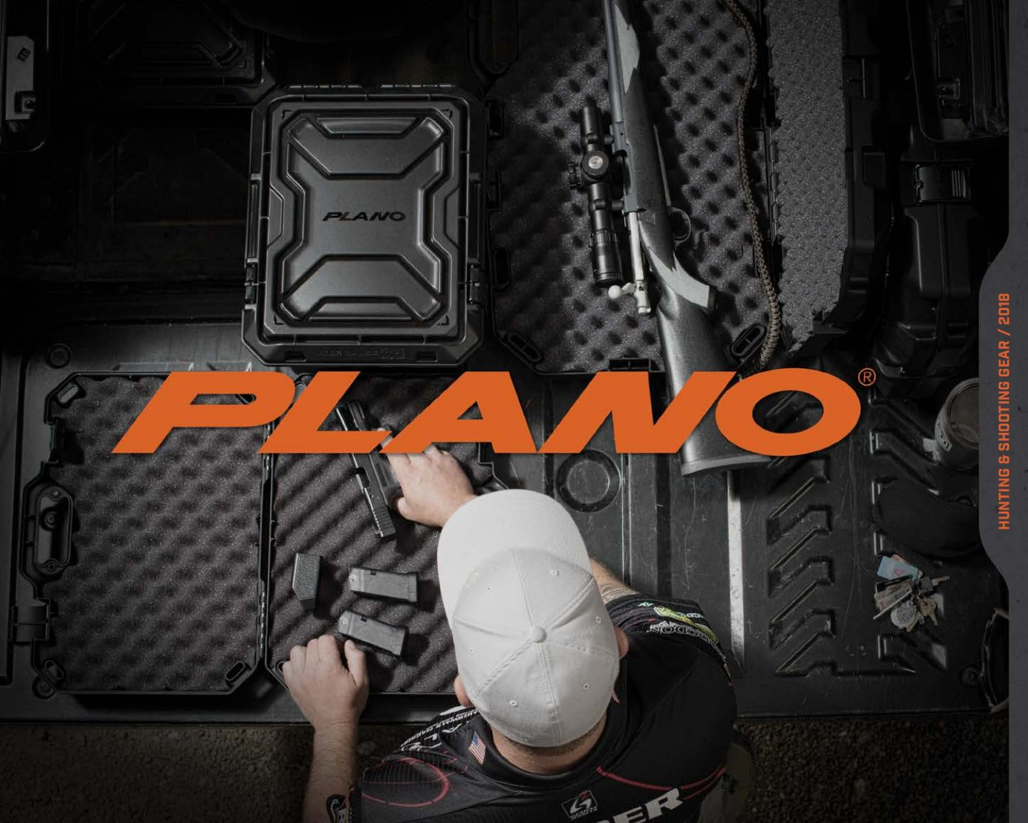 Plano 25-Round Ammo Cartridge Box//Case Target Shooting Hunting Sport