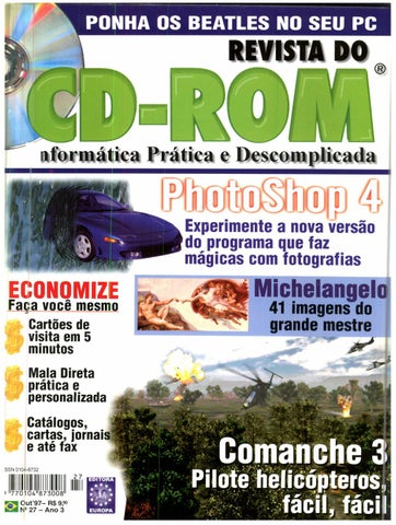 2298b4df47b Revista do cdrom 027 by Michel França - issuu