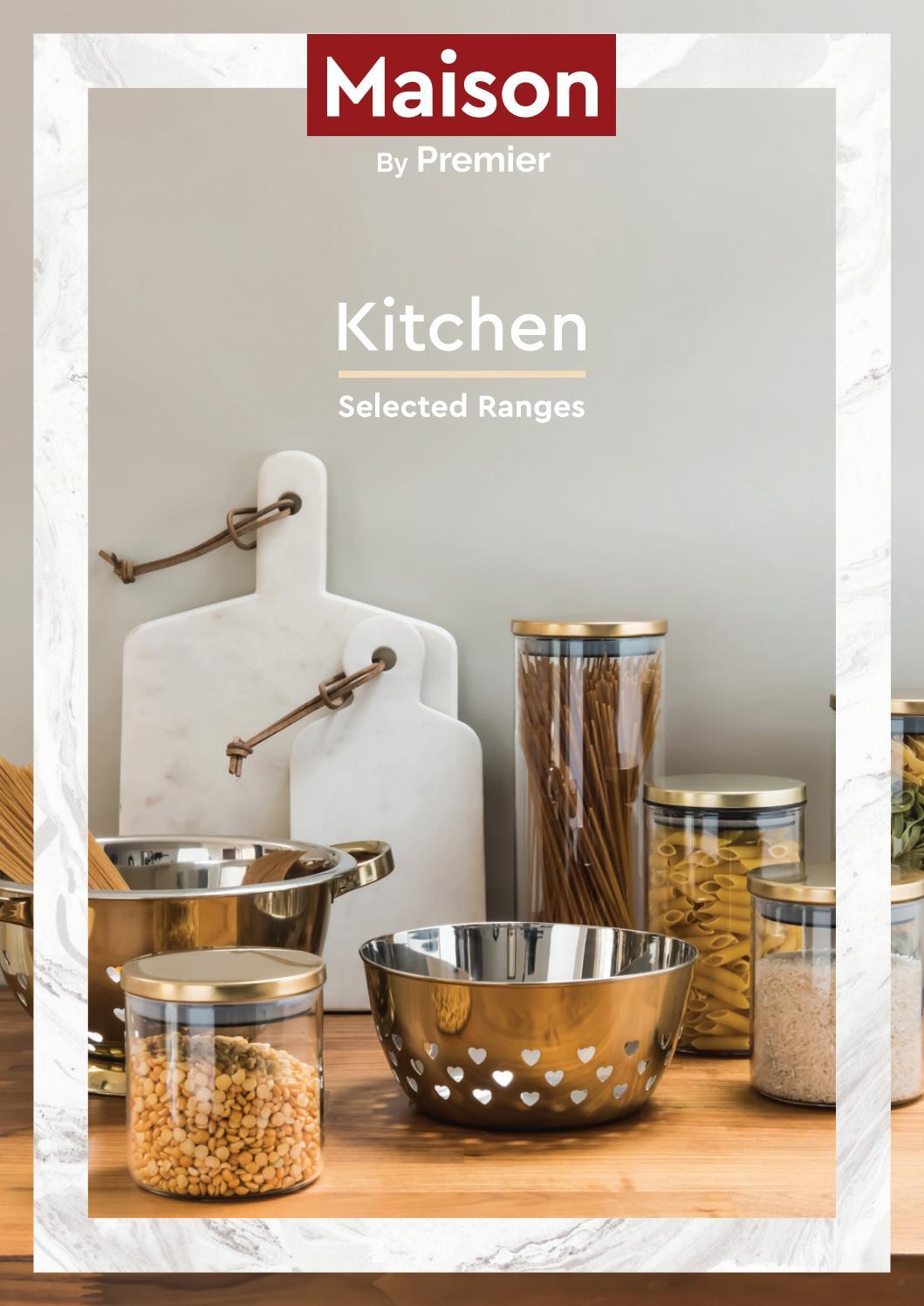 Black Stoneware Kitchen OvenLove Casserole Dish 1.4 Ltr with Lid