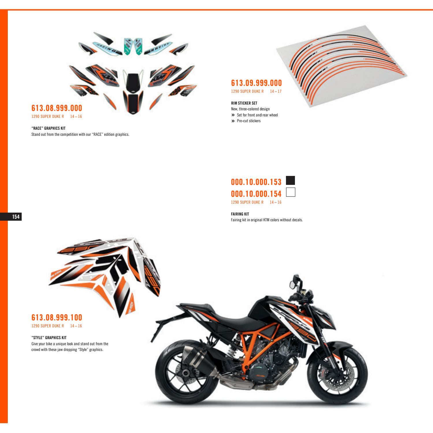 Ktm powerparts street catalog 2017 usa
