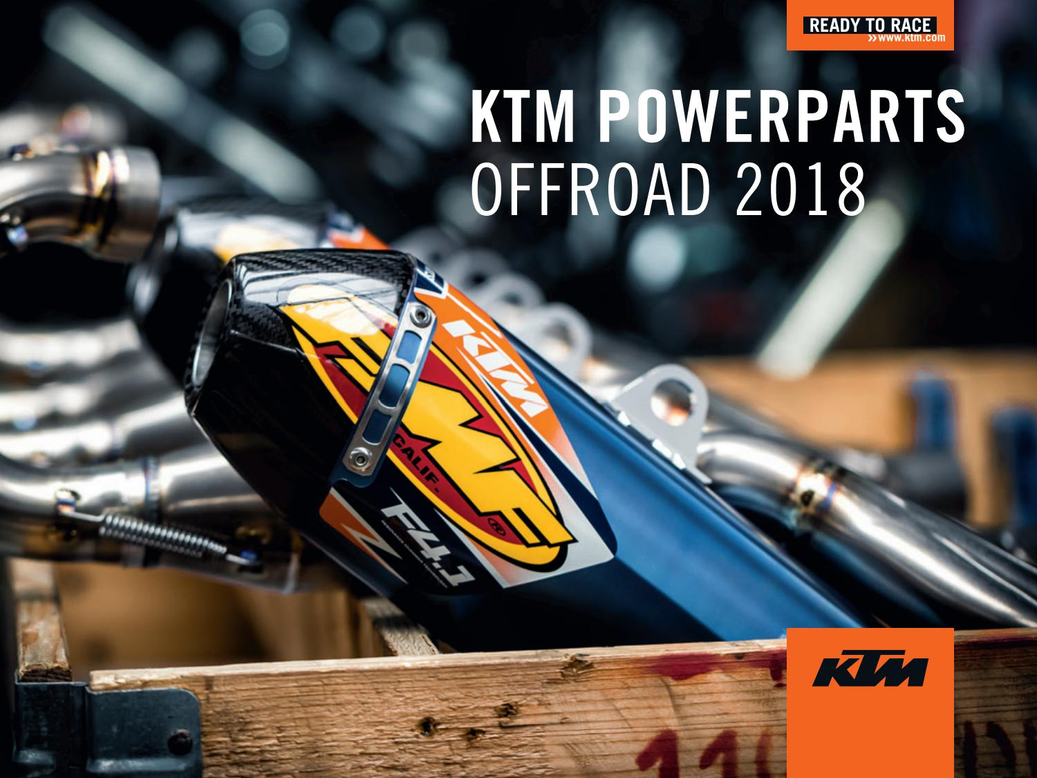 71639319d7e33 KTM PowerParts Offroad Catalog 2018 USA by KTM GROUP - issuu