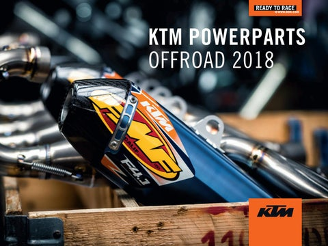 KTM PowerParts Offroad Catalog 2018 USA by KTM GROUP - issuu