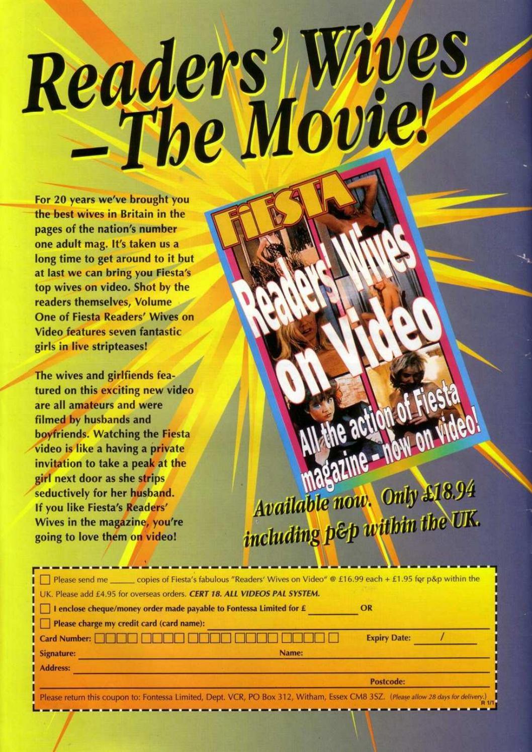 Readers Wife Uk Magazine Fiesta Video