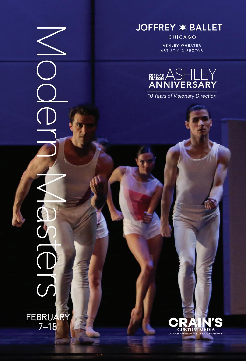 abf98aabed0b Modern Masters Program Book by The Joffrey Ballet - issuu