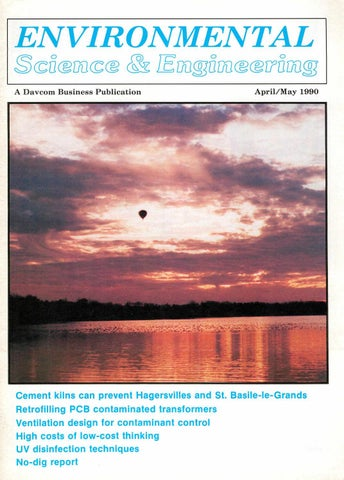 a4bd247f87d Environmental Science   Engineering Magazine (ESEMAG) April-May 1990 ...