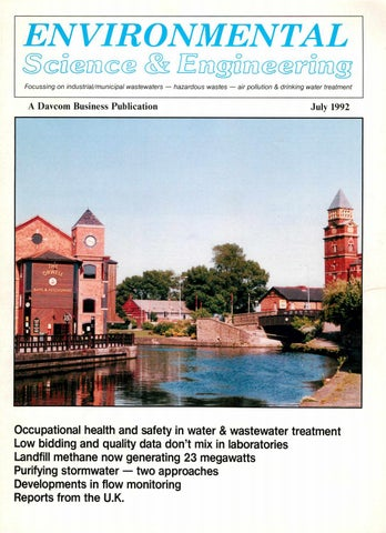 Environmental Science & Engineering Magazine (ESEMAG) July