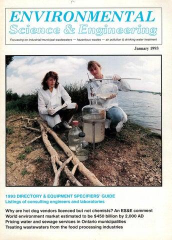 0e45ba04186 Environmental Science   Engineering Magazine (ESEMAG) January 1993 ...