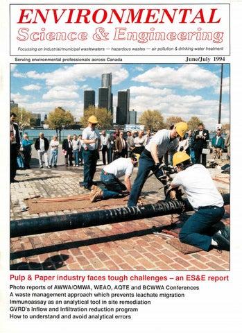 Environmental Science Engineering Magazine Esemag June