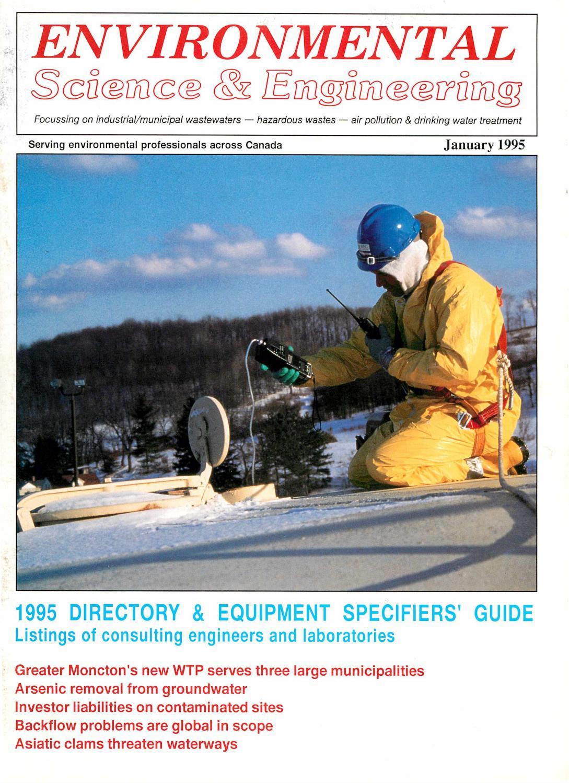 Environmental Science & Engineering Magazine (ESEMAG) January 1995 ...
