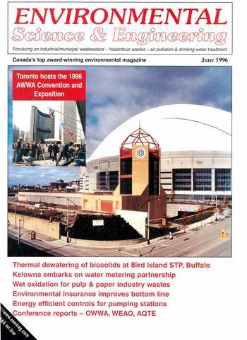 cb18af944da Environmental Science   Engineering Magazine (ESEMAG) June 1996 by ...