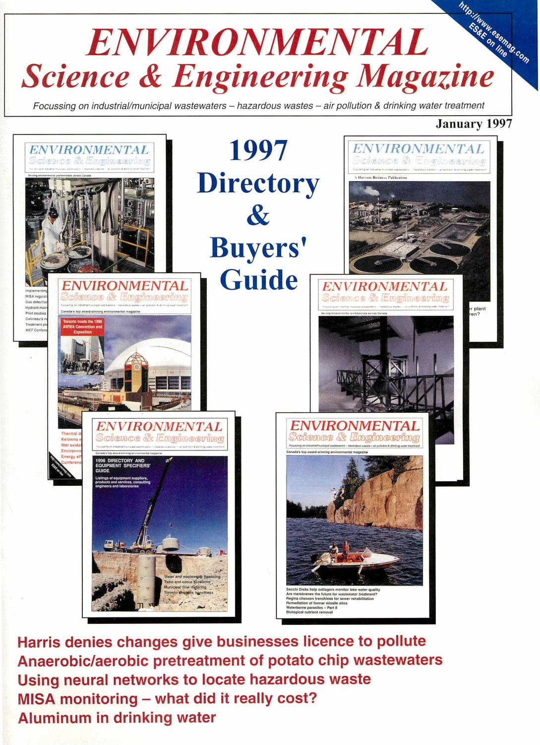 Environmental Science Engineering Magazine Esemag January 1997 Way Passive Crossover Calculator Http Circuitdiagramhqewnet 1st By And Issuu