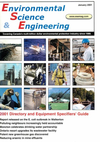 Environmental Science & Engineering Magazine ESEMAG January 2001