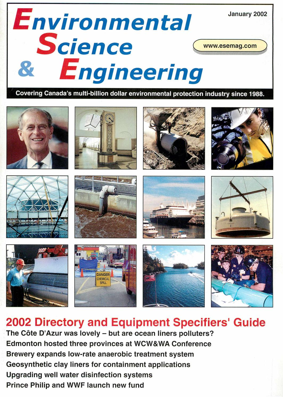 Environmental Science & Engineering Magazine (ESEMAG) January 2002 by  Environmental Science and Engineering Magazine - issuu